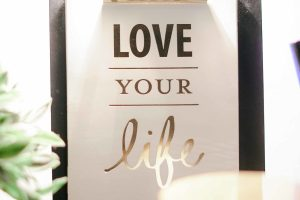 Love your life sign. Stress management counseling helps with anxiety treatment, burnout, and therapy for perfectionists. I am a therapist in Houston77006, TX 7